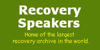 Recoveryspeakers.org is a historical Alcoholics Anonymous Audio Archive which is the result of many years of dedicated effort by a few members of the fellowship.